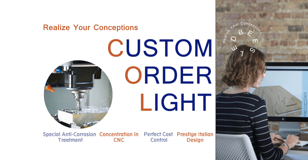 """Realize Your Conceptions"" – Custom Order Light (COL)"