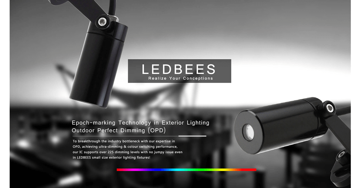 To Breakthrough the Bottleneck of Exterior Lighting Industry: Outdoor Perfect Dimming Technology (POD) Premiere (HKLF 2018: 3E-C34)